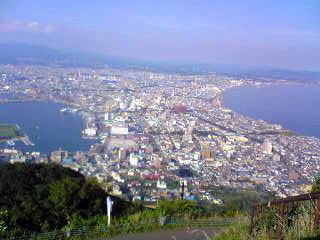 函館山から