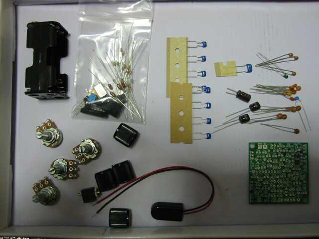 KEM-RX7 7MHz受信機キット