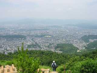 山科から大文字山