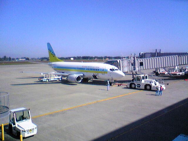 仙台空港到着