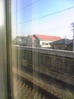 東海道新幹線の南側窓から見える富士山(2)