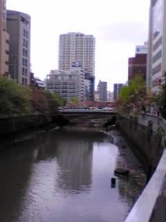 五反田  目黒川